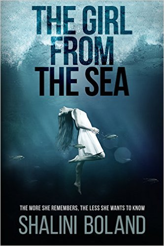 The Girl from the Sea - Shalini Boland - Book Cover