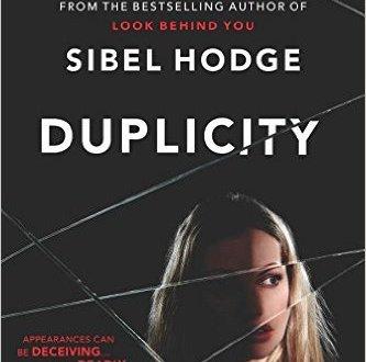 Duplicity - Sibel Hodge - Book Cover