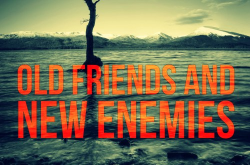 Old Friends and New Enemies - Owen Mullen Book Cover