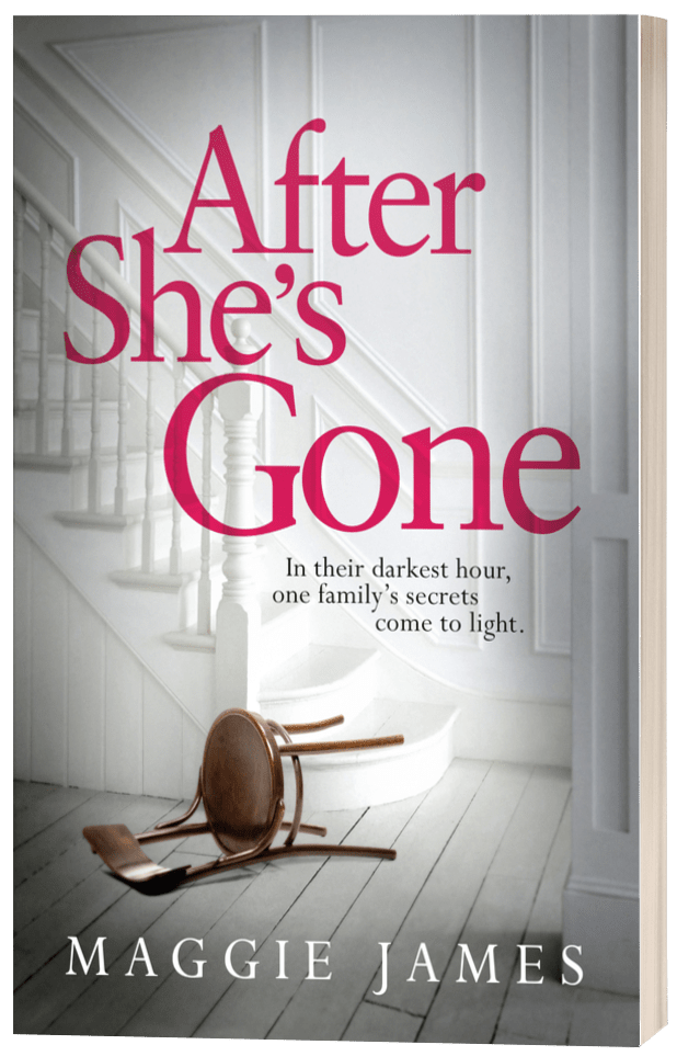 After She's Gone - Maggie James - 3D book cover