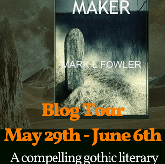 Blog Tour Coffin Maker Mark Fowler Poster
