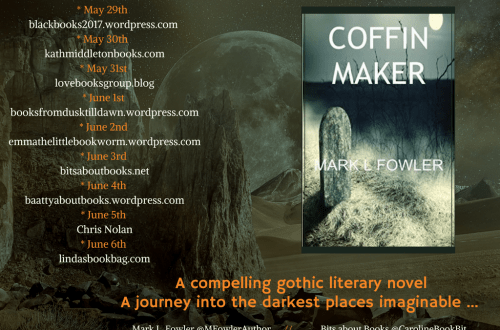 Coffin Maker - Mark Fowler - Blog Tour Poster