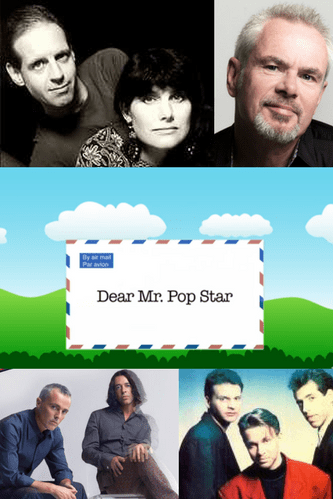 Dear Mr Pop Star - Derek and Dave Philpott - Book Cover