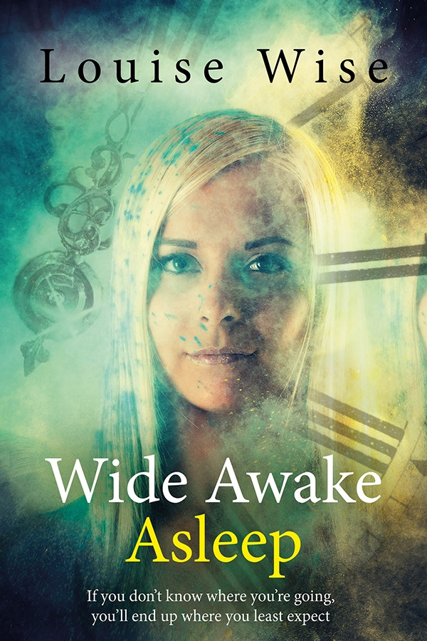 Wide Awake Asleep - Louise Wise - Book Cover