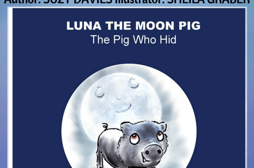 Luna the Moon Pig - Suzy Davies - Book Cover