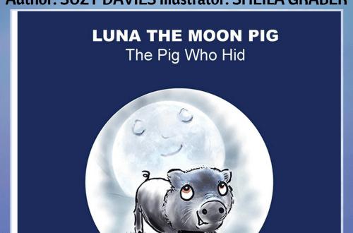 Luna the Moon Pig - Suzy Davies - Book Cover