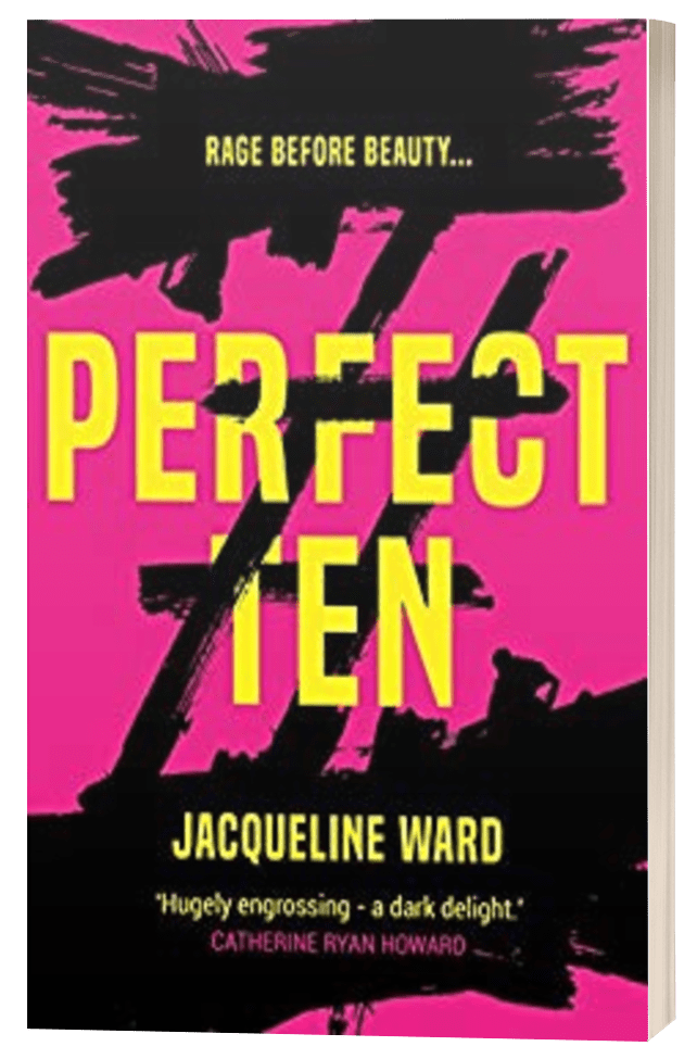 Perfect Ten - Jacqueline Ward - 3D Book Cover