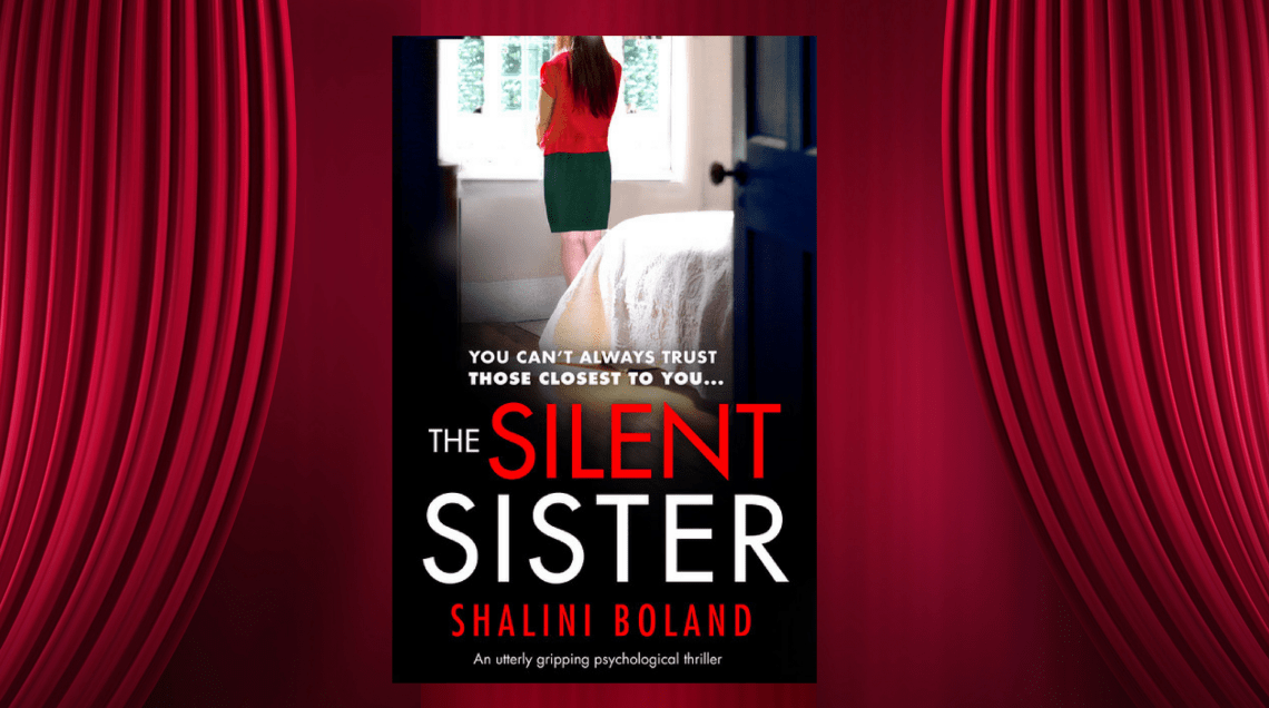 Blog Post Image Features & News Cover Reveal The Silent Sister - Shalini Boland