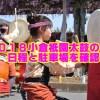 小倉祇園太鼓競演会2018/日程・交通規制・アクセスと屋台の場所と時間も確認!