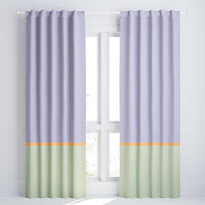 96 curtain panels crate and barrel