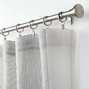 curtains hardware window treatments