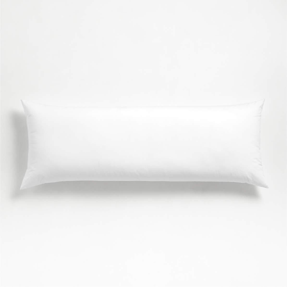 parachute down alternative 54 x20 body pillow insert