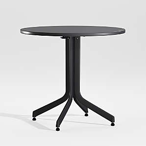 folding outdoor tables crate and barrel