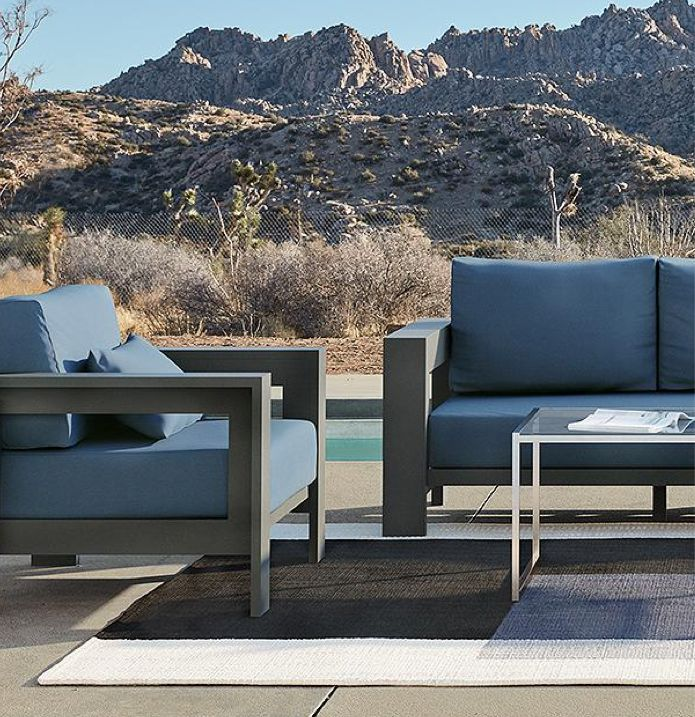 outdoor furniture by material crate