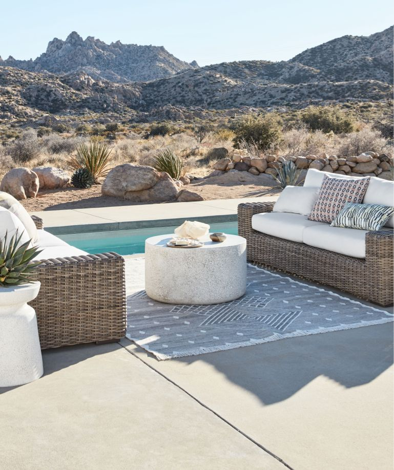 outdoor furniture for the patio and