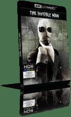 L'uomo invisibile (1933) [HDR] UHD 2160p ITA/AC3+DTS 2.0 ENG/DTS-HD MA 2.0 Subs MKV