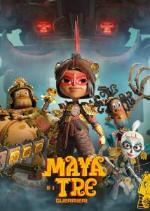 Maya e i tre guerrieri - Stagione 1 - COMPLETA