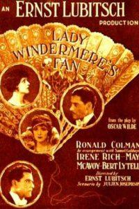 Il ventaglio di Lady Windermere [B/N] (1925)