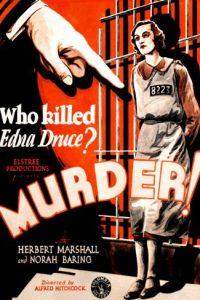 Omicidio! [B/N] (1930)
