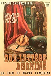 Due lettere anonime [B/N] (1945)