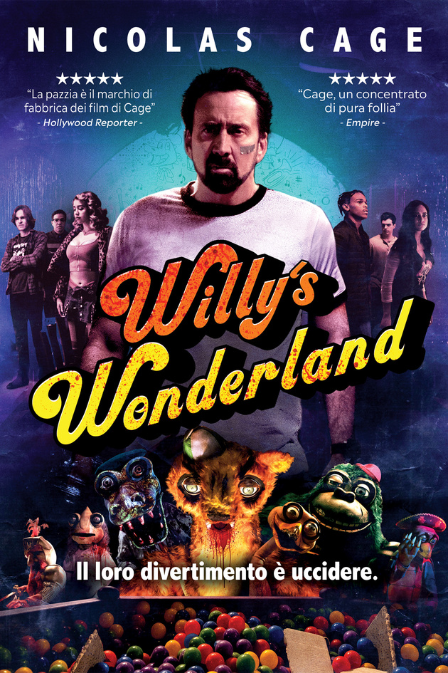 Willy's Wonderland [HD] (2021)