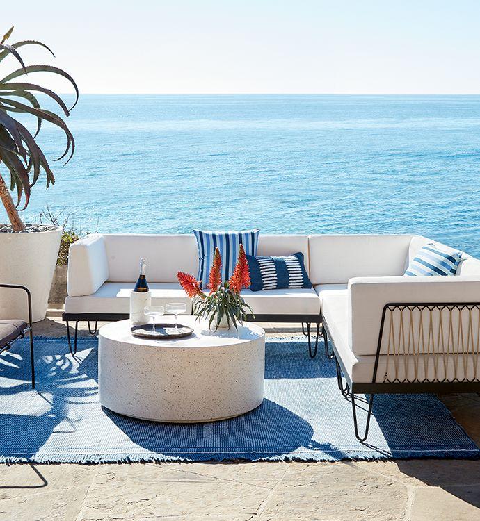 modern outdoor furniture decor cb2