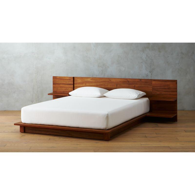 Andes Acacia Platform Bed Reviews CB2