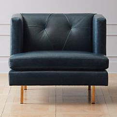 Faux Leather Chair And A Half Dining Covers Images Modern Accent Chairs Armchairs Cb2 Avec With Brass Legs