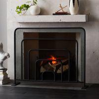 modern fireplace accessories | CB2