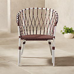woven outdoor chair chaise lounge chairs for the patio cb2 bedia