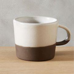 Wood Kitchen Play Set Sink Depth Black Clay Coffee Mug + Reviews   Cb2