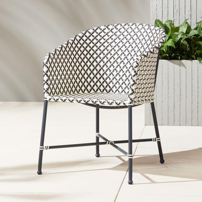modern rattan furniture  CB2