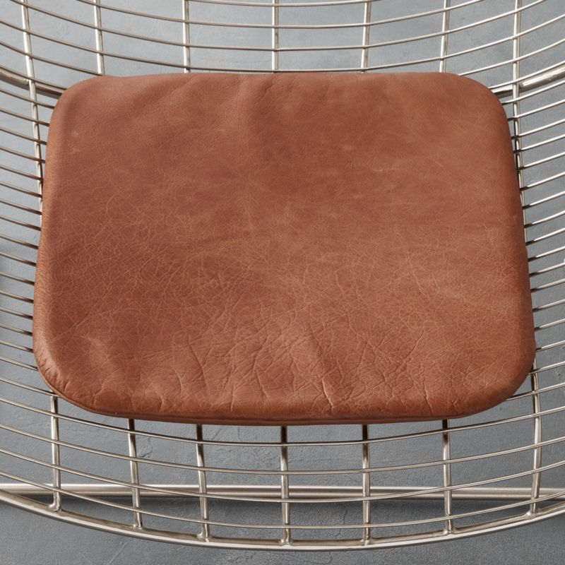 cheap seat cushions for chairs shampoo bowl and chair brown leather cushion reviews cb2