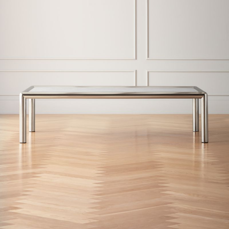 conrad marble coffee table