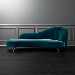 modern twine curved arm sofa standard length of a three seater sofas couches and loveseats cb2 copine peacock velvet chaise lounge