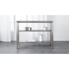 Stainless Steel Kitchen Cart Cabinets Fort Myers Coterie Reviews Cb2 Coteriekitchencartshavf16 1x1