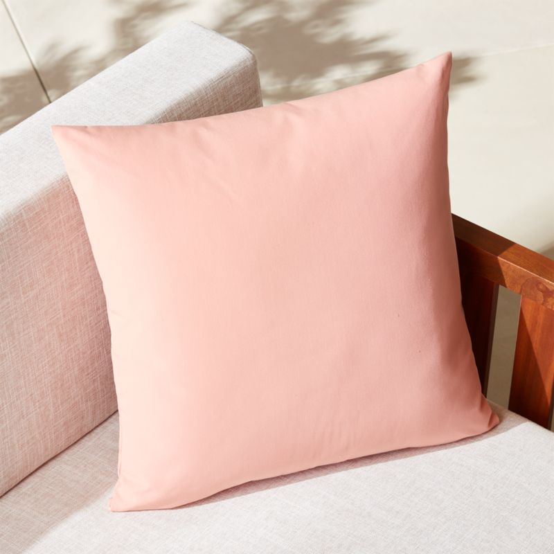 light pink pillows  CB2