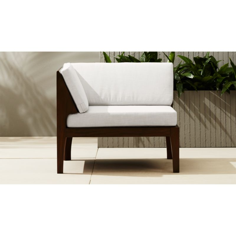 wooden corner chair blue velvet armchairs uk elba outdoor reviews cb2 elbacornerchairshs16 1x1
