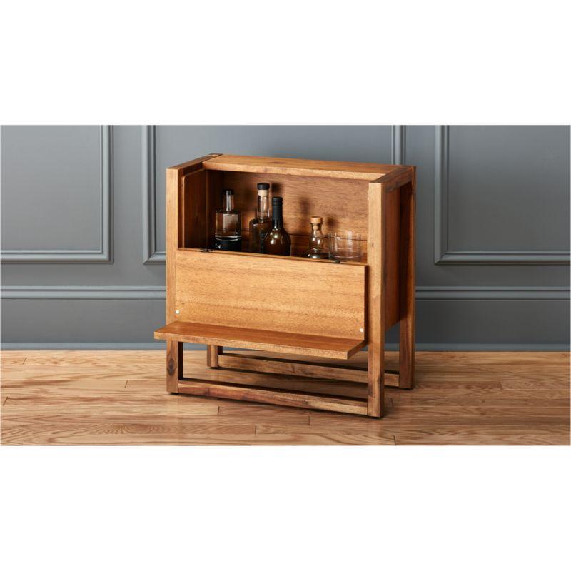 Elixir Mini Bar Table  Reviews  CB2