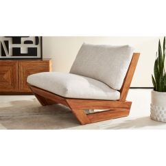 Teak Lounge Chair Cheap Rocking Chairs For Nursery Sunset Reviews Cb2