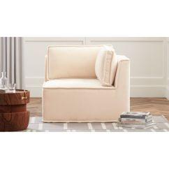 Velvet Tufted Chair Long Bean Bag Quattro Snow Corner Reviews Cb2