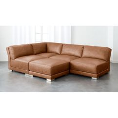 Leather Sectional Sofas Broyhill Zachary Sofa Dusky Gybson Brown Reviews Cb2 Gybsonleathergroupfhs17 1x1