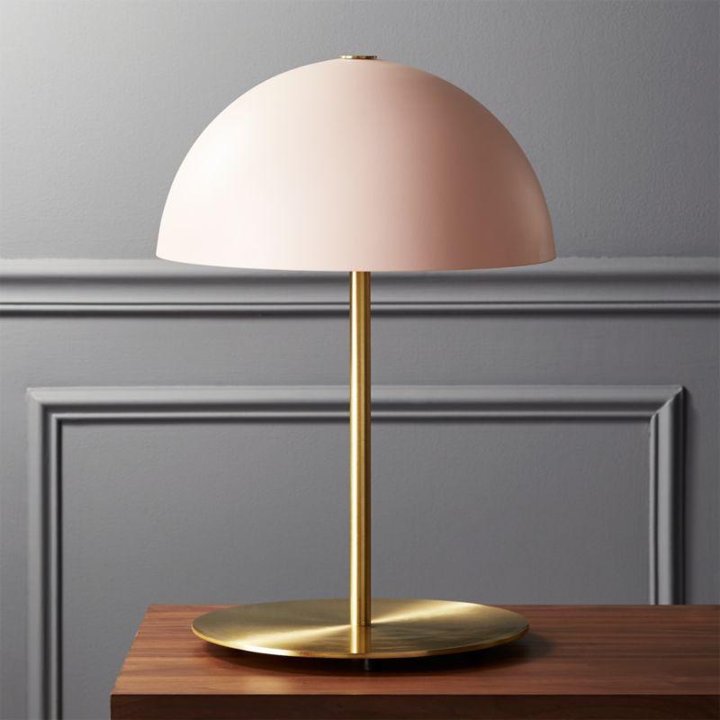 Hanna Pink Table Lamp  Reviews  CB2