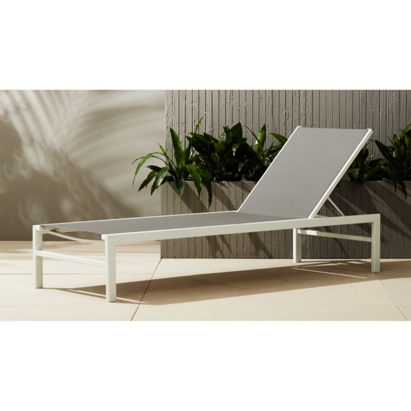 outdoor chair lounge picnic table and chairs folding idle grey chaise reviews cb2 idlesunloungergreyshs16 1x1