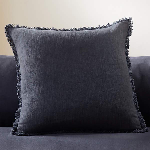 20 eyelash black pillow cb2