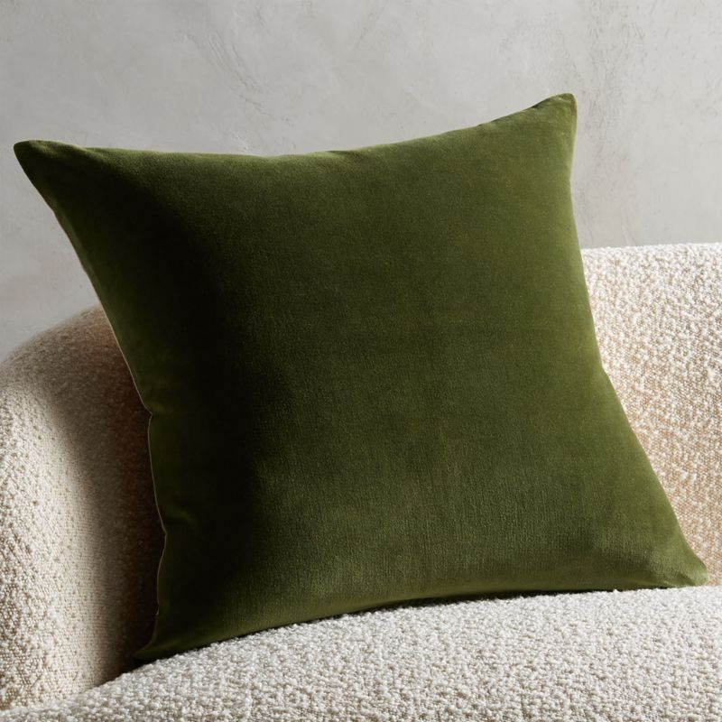 olive green pillows online