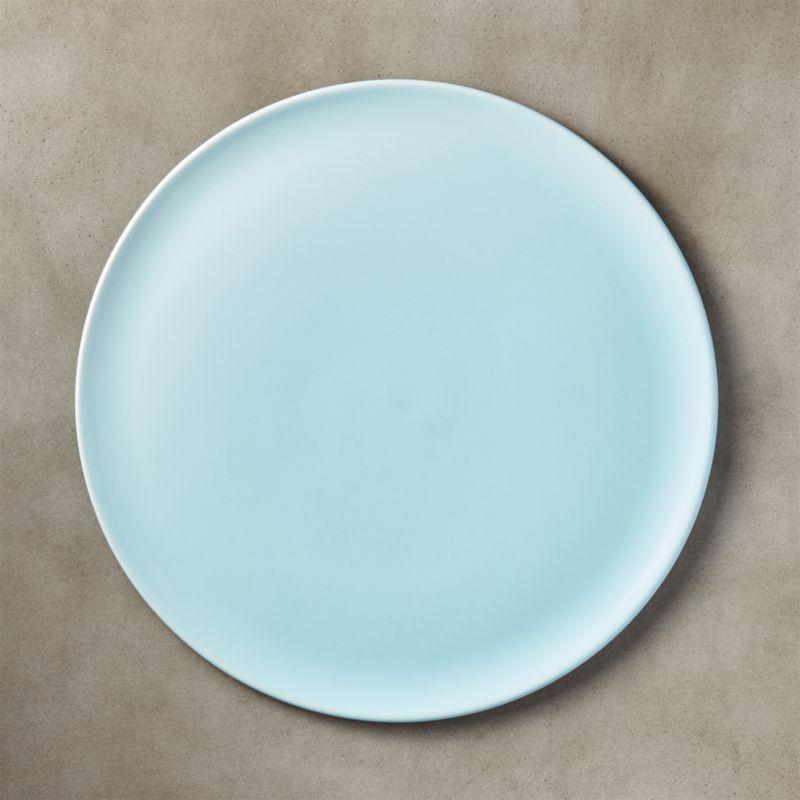 level light blue dinner