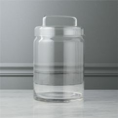 Kitchen Canister Outdoor Accessories Modern Canisters Cb2 Looking Glass Large