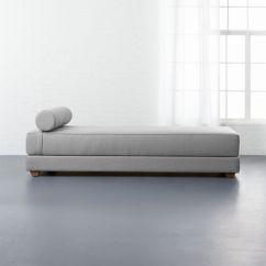 Armless Sofas Gus Modern Jane Loft Bi Sectional Sofa Reviews Cb2 Lubi Silver Grey Sleeper Daybed