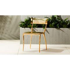 Gold Dining Chairs Empty Fishing Chair Midas Reviews Cb2 Midasdiningchairshs17 1x1